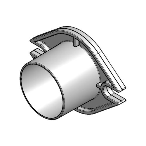 WETRAVENT Air Products - Zubehör - Schlauchflansch
