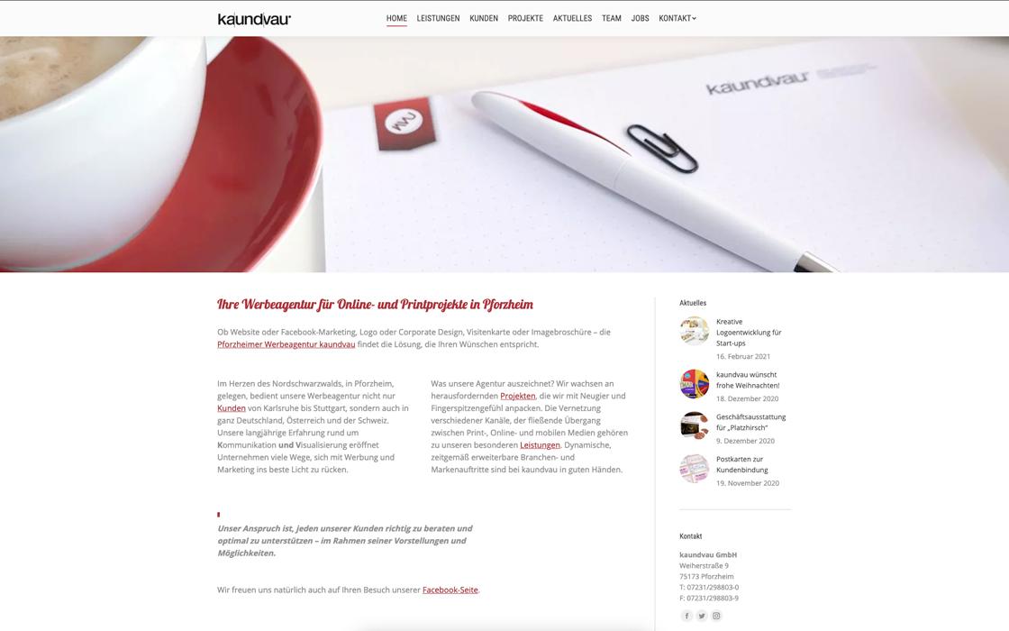 Werbeagentur Pforzheim - kaundvau GmbH